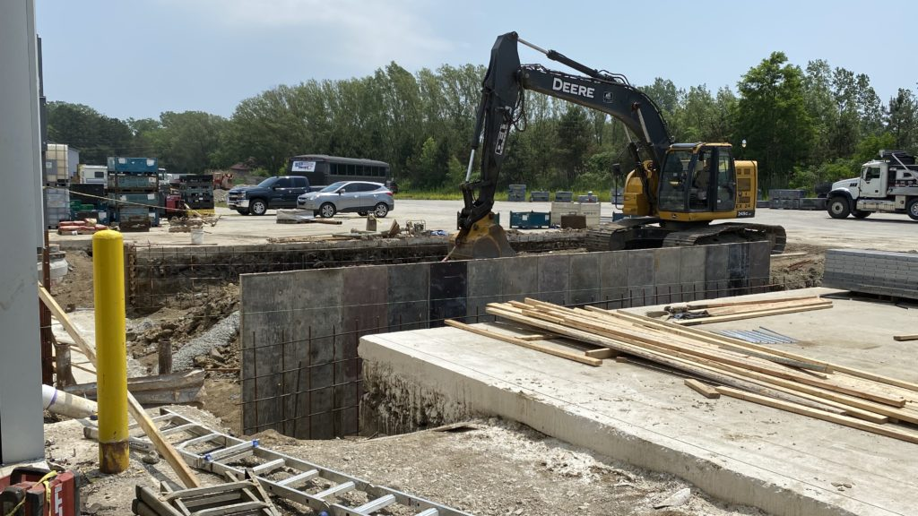 PTM invests new truck wells being installed in Plant 1