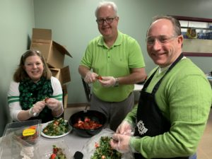 management cooks green eggs and ham breakfast
