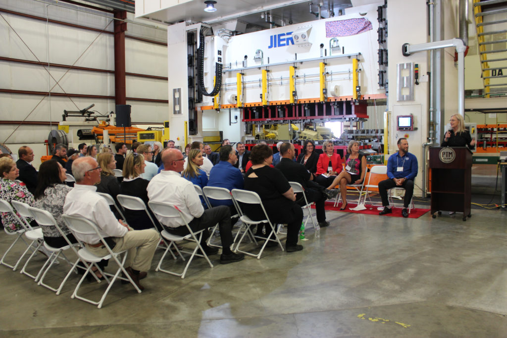 PTM Corporation Ribbon Cutting Ceremony