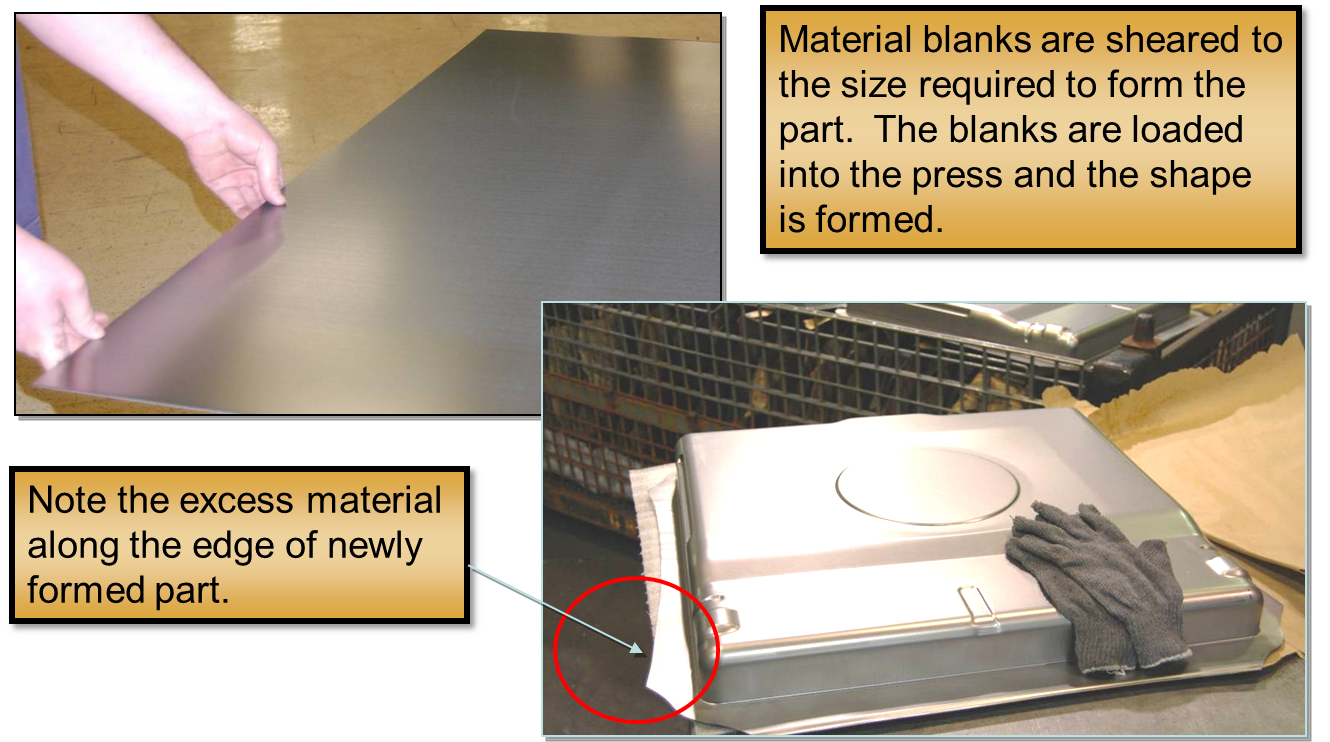 material blank
