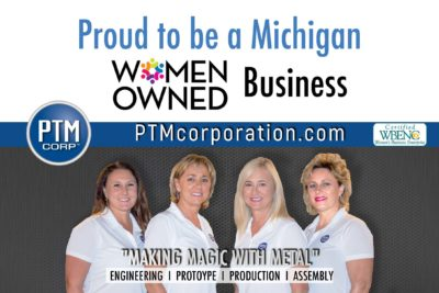 Women Owned Michigan Business producing metal stampings 1972