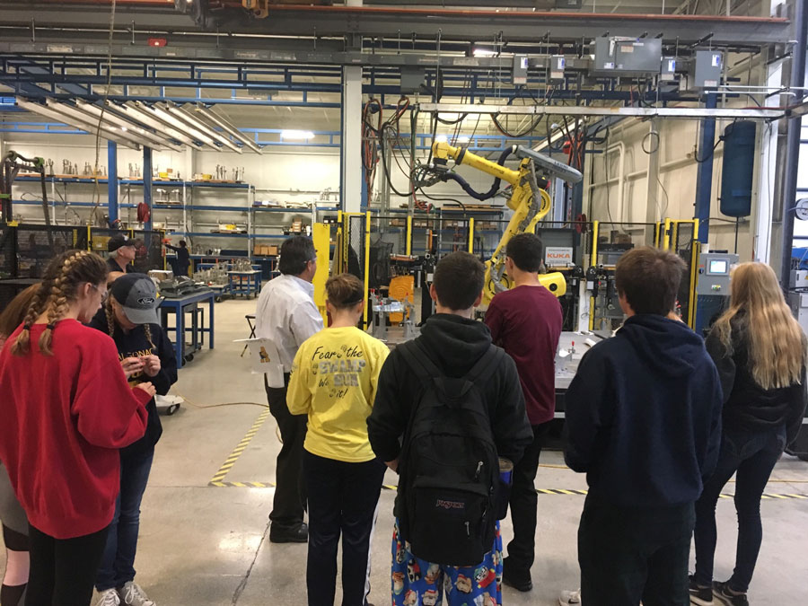 Securing the future of manufacturing one student at a time.